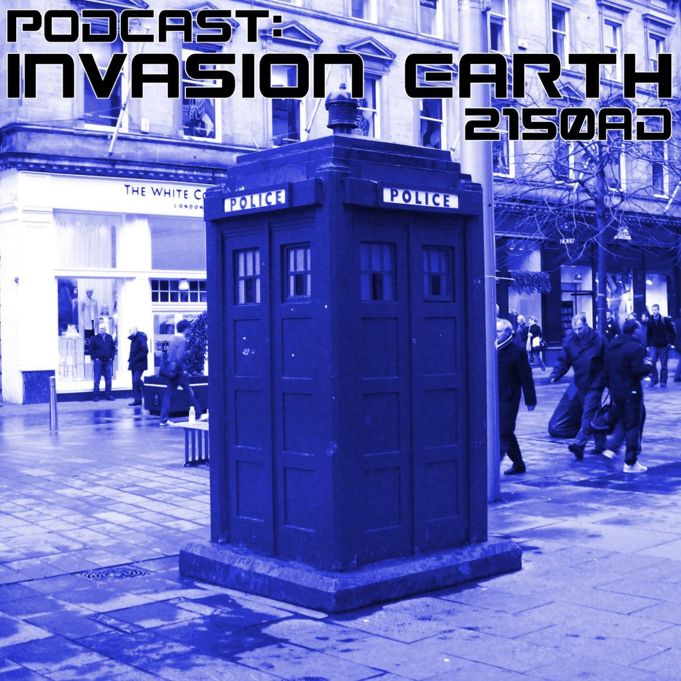 Podcast Invasion Earth 2150AD